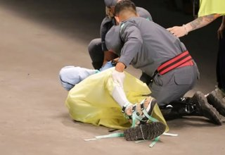 Male model dies after collapsing on catwalk in Brazil (VIDEO)