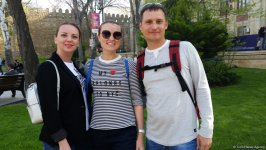 Foreign tourists delighted with Baku and Formula 1 SOCAR Azerbaijan Grand Prix 2019 (PHOTO) - Gallery Thumbnail