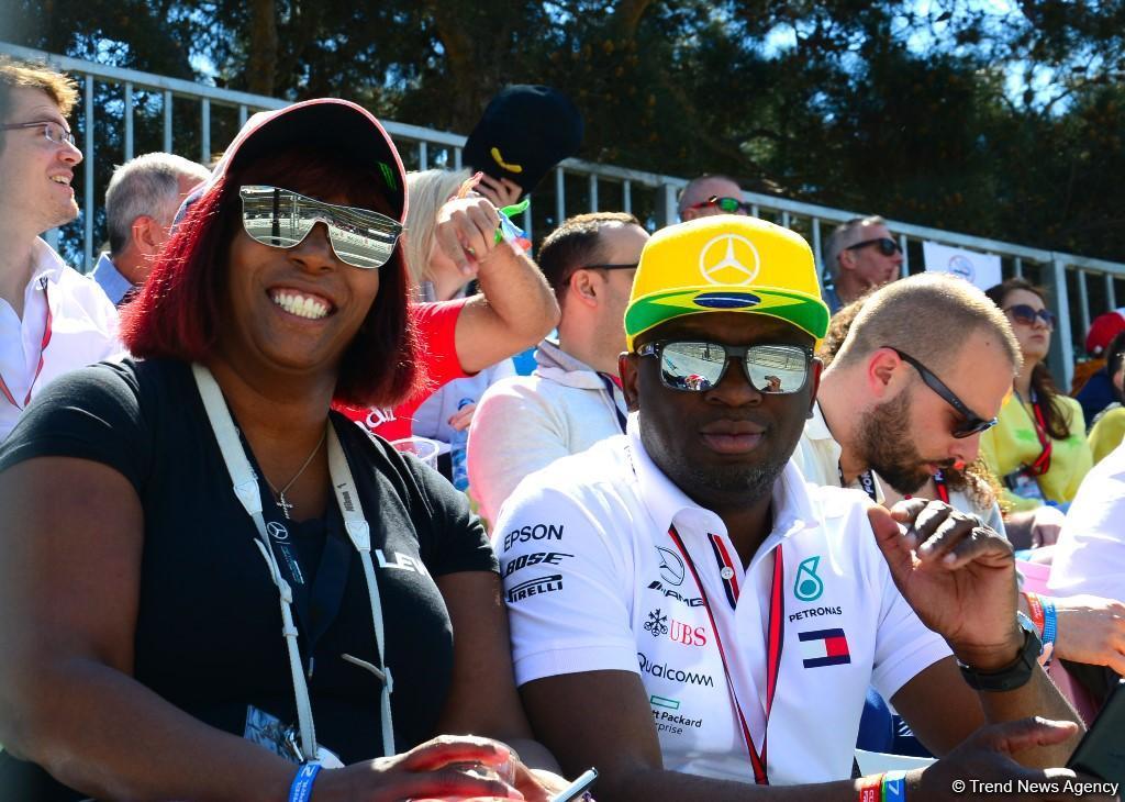 Лучшие моменты  Гран-при Формулы 1 SOCAR Азербайджан (ФОТОРЕПОРТАЖ) - Gallery Image