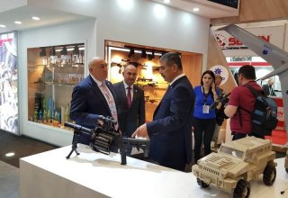 Azerbaijani weapons displayed at international exhibition in Turkey (PHOTO)