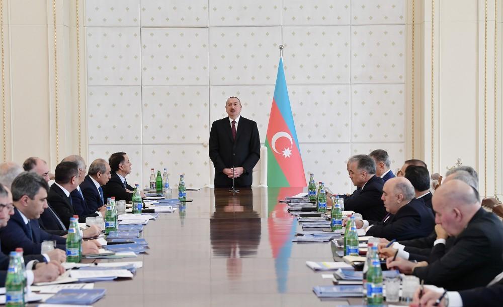 Prezident İlham Əliyev: Sabitliyin təminatçısı Azərbaycan xalqıdır, siyasətimizə göstərilən dəstək bizi gücləndirir
