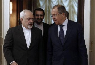 Meeting of the Foreign Ministers of Russia and Iran being held