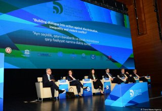 High-level meeting within World Forum on Intercultural Dialogue held in Baku (PHOTO)