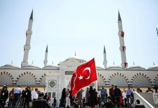Biggest mosque in Turkey opens in Istanbul (PHOTO)