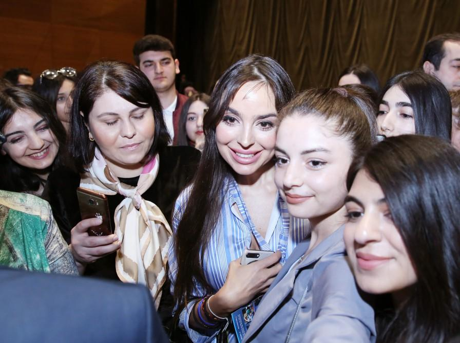 Vice-President of Heydar Aliyev Foundation Leyla Aliyeva attends plenary session of 5th World Forum on Intercultural Dialogue (PHOTO) - Gallery Image