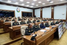 Azerbaijani defense minister instructs to maintain high level of combat readiness (PHOTO) - Gallery Thumbnail