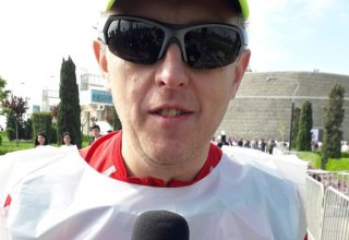 Polish guest: I arrived in Baku to participate namely in this marathon