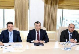 Asiya İnkişaf Bankı ilə gələcək əməkdaşlıq istiqamətlərinə  dair fikir mübadiləsi aparılıb (FOTO)
