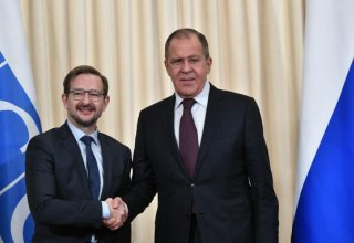 Russia reveals details of discussions between Lavrov and Greminger on  Karabakh conflict