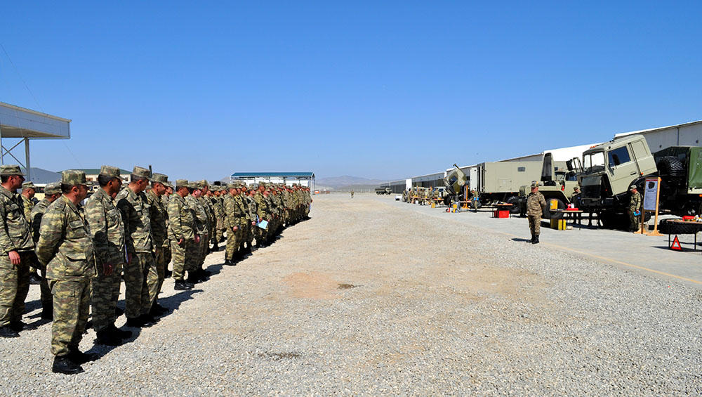 Weapons, military equipment being transferred into summer operation mode in Azerbaijan (PHOTO)