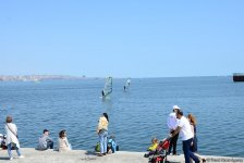В Баку проходит регата парусных яхт, посвященная 96-й годовщине со дня рождения великого лидера Гейдара Алиева (ФОТОРЕПОРТАЖ) - Gallery Thumbnail