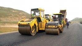Xocəsən-Lökbatan yolunun yenidən qurulması davam etdirilir (FOTO) - Gallery Thumbnail