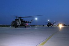 Azerbaijan's military helicopters arrive in Turkey for drills (PHOTO/VIDEO) - Gallery Thumbnail