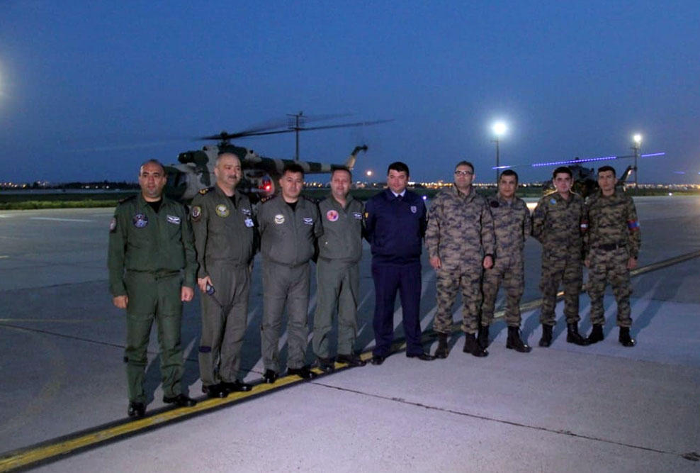 Azerbaijan's military helicopters arrive in Turkey for drills (PHOTO/VIDEO) - Gallery Image