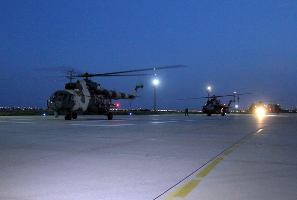 Azerbaijan's military helicopters arrive in Turkey for drills (PHOTO/VIDEO)