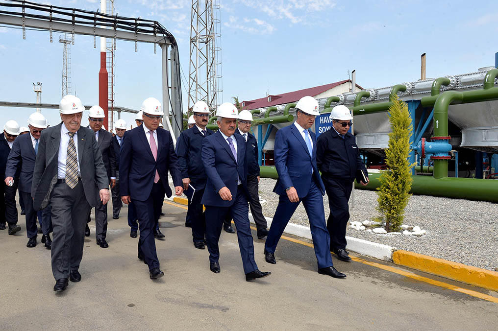 Azerbaijan increases productivity of Galmaz gas storage facility (PHOTO) - Gallery Image