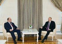 President Ilham Aliyev receives Belarus deputy PM (PHOTO) (UPDATE) - Gallery Thumbnail