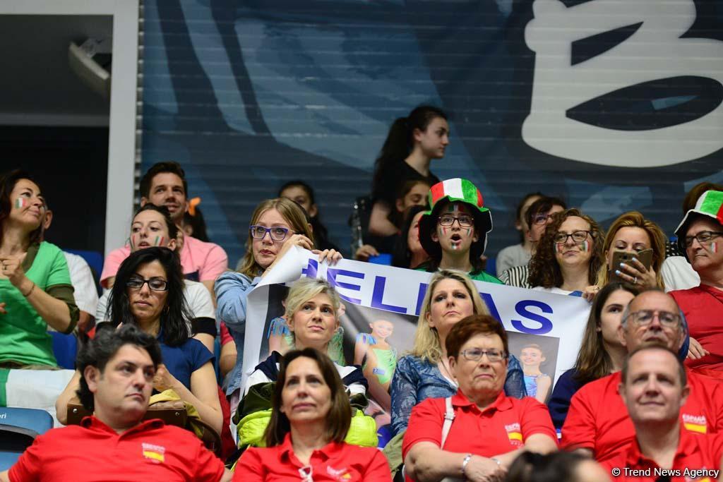 Грандиозная церемония открытия 35-го Чемпионата Европы по художественной гимнастике в Баку (ФОТОРЕПОРТАЖ) - Gallery Image