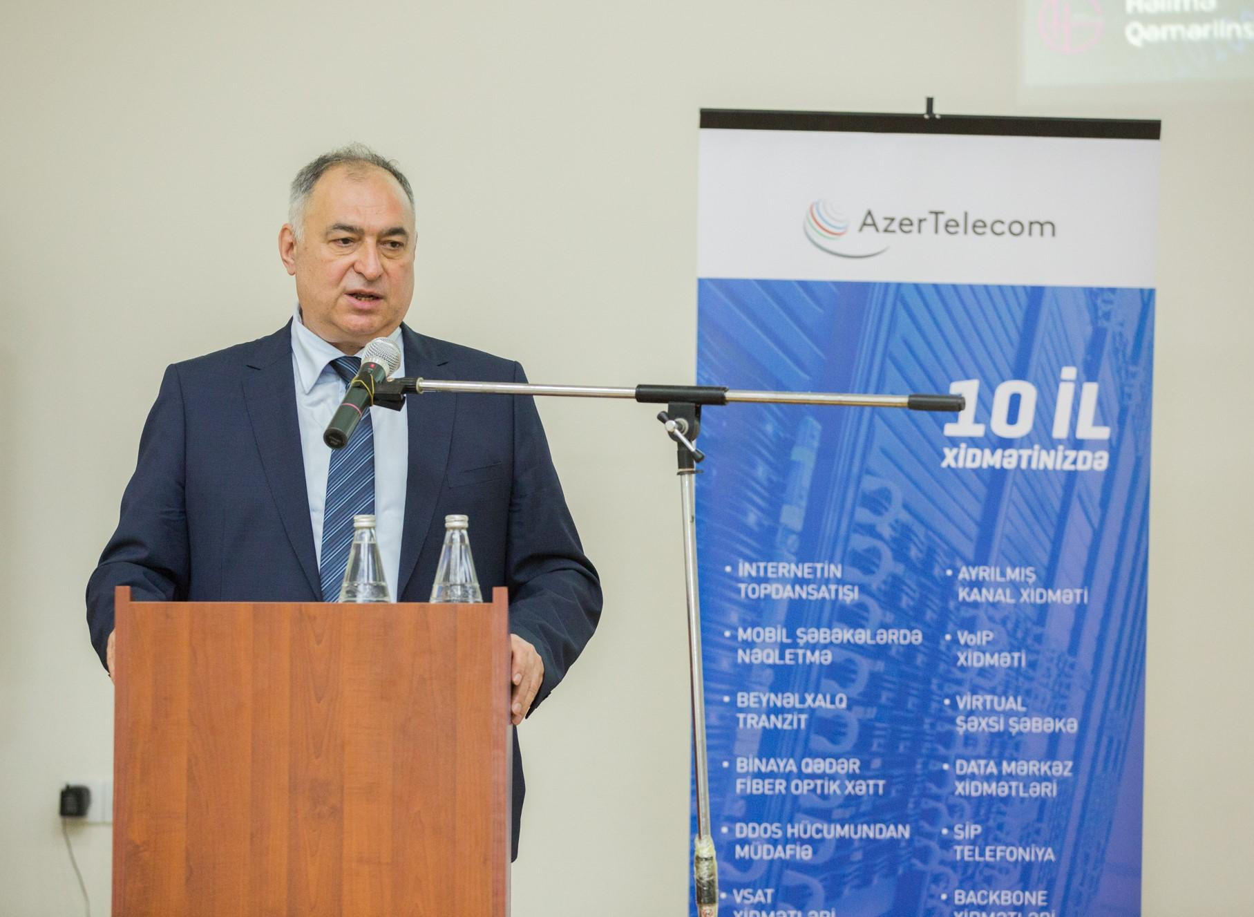 """Youth opportunities of AzerTelecom's """"Digital HUB"""" program discussed (PHOTO) - Gallery Image"""