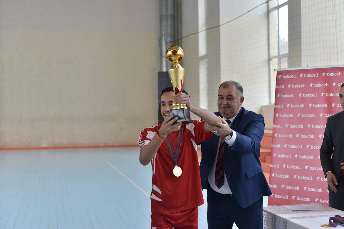 Bakcell supports traditional futsal tournament among young persons with hearing impairments (PHOTO) - Gallery Image