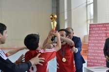 Bakcell supports traditional futsal tournament among young persons with hearing impairments (PHOTO) - Gallery Thumbnail