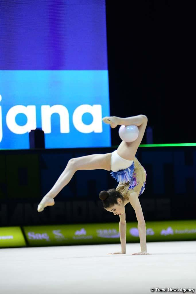В Национальной арене гимнастики в Баку продолжаются соревнования Чемпионата Европы (ФОТО) - Gallery Image
