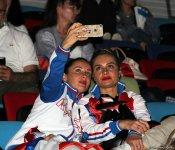 Third day of 35th European Rhythmic Gymnastics Championships in Baku continues (PHOTO) - Gallery Thumbnail