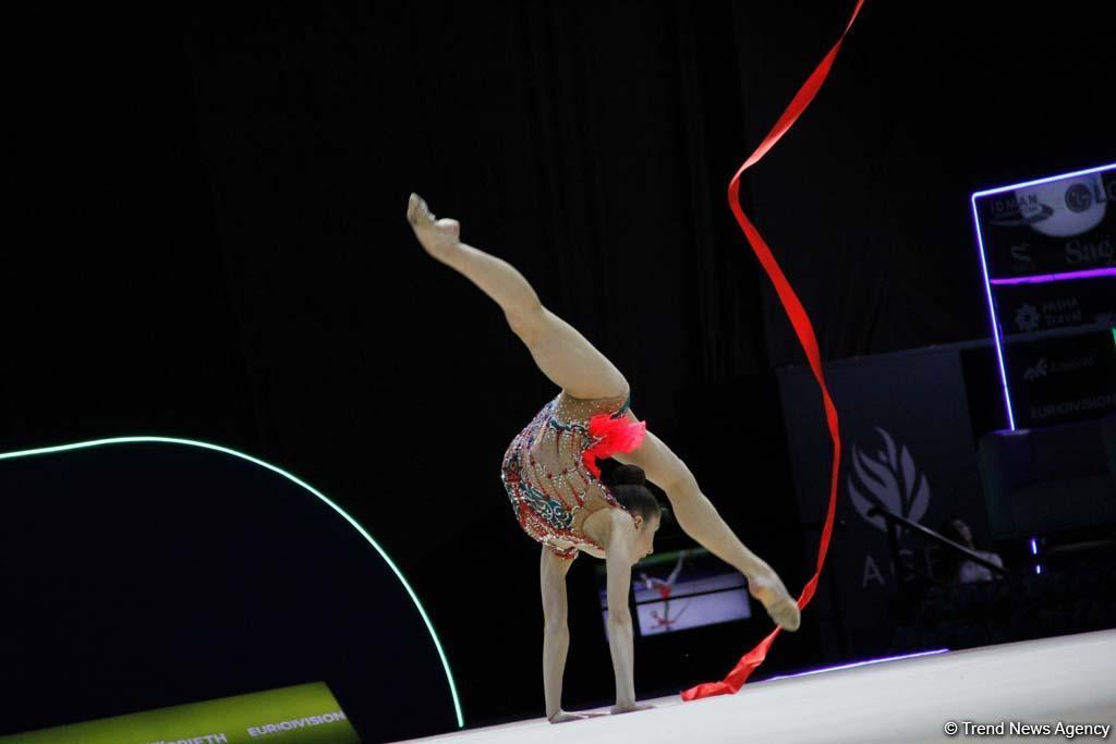 Грация, пластика и красота движений: лучшие моменты третьего дня соревнований Чемпионата Европы в Баку (ФОТО) - Gallery Image