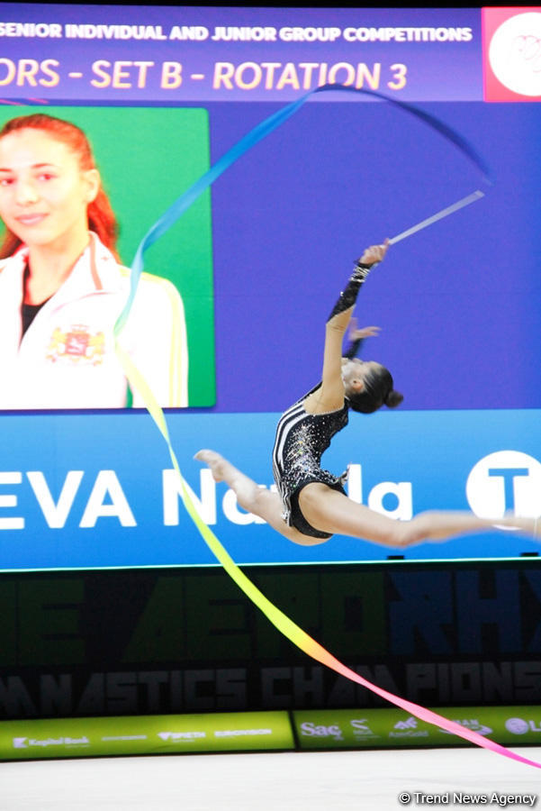 Third day of 35th European Rhythmic Gymnastics Championships starts in Baku (PHOTO) - Gallery Image