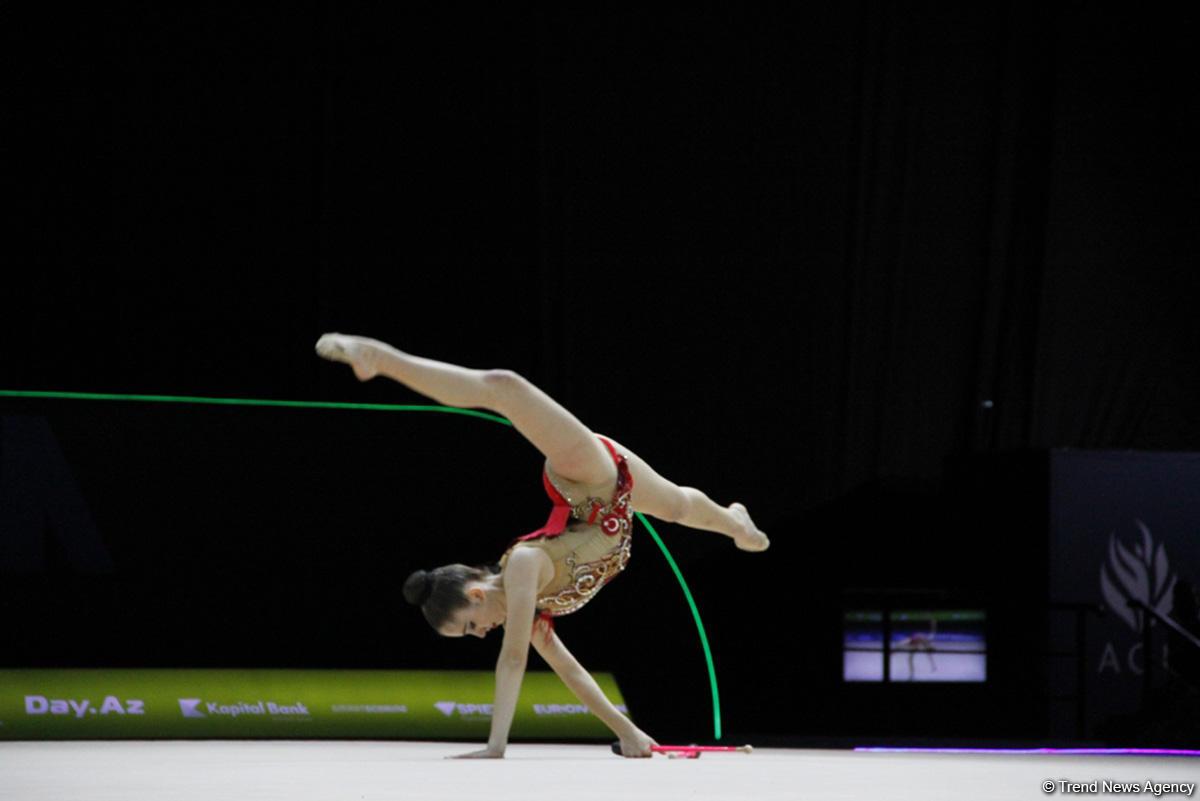 Third day of 35th European Rhythmic Gymnastics Championships in Baku continues (PHOTO) - Gallery Image