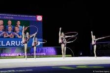 Bakıda bədii gimnastika üzrə 35-ci Avropa çempionatının finalı keçirilir (FOTO) - Gallery Thumbnail
