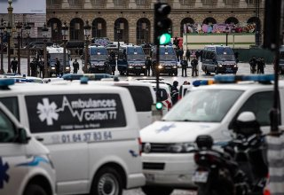 Paris police fire tear gas at protest of racial injustice