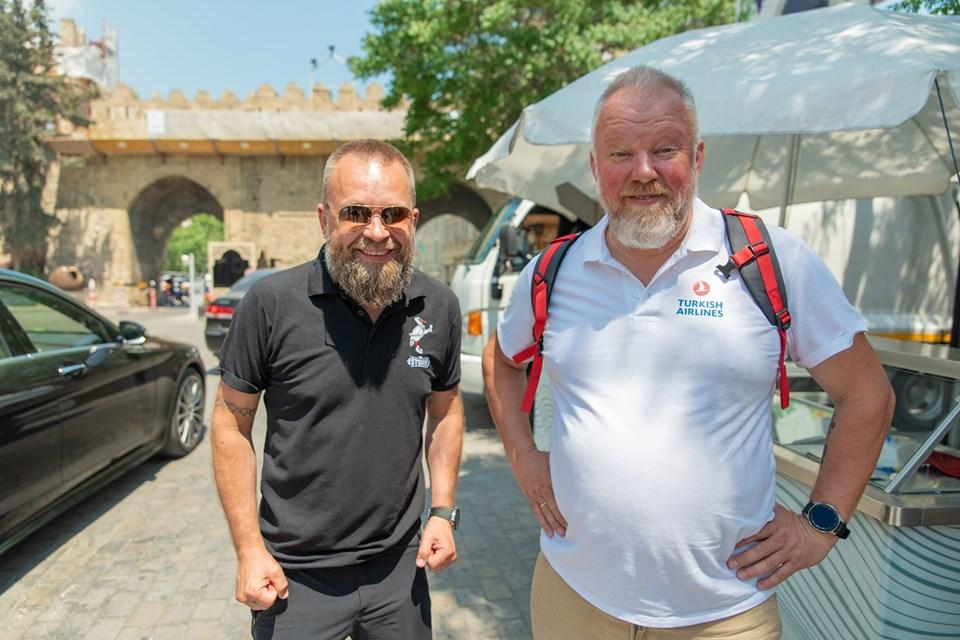 Lithuania's popular travel filmmakers visit Azerbaijan for new project (PHOTO) - Gallery Image