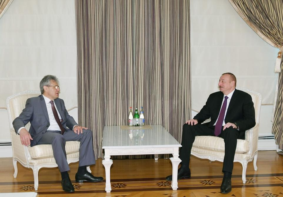 President Ilham Aliyev received president of Russian Academy of Sciences