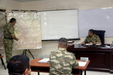 Defense minister hears out reports on Azerbaijani army drills (PHOTO/VIDEO) - Gallery Thumbnail