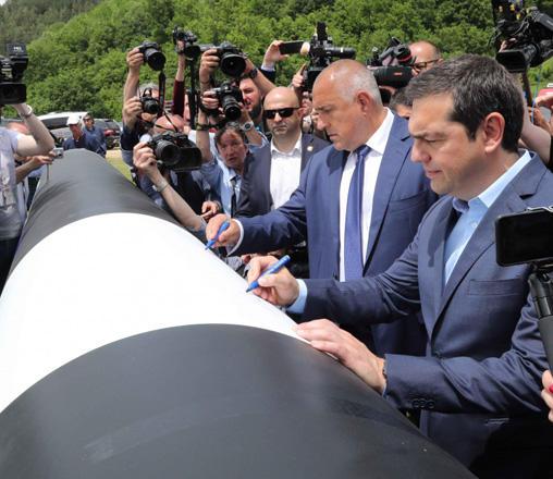 Состоялась церемония закладки фундамента газопровода, предназначенного для транзита азербайджанского газа в Болгарию