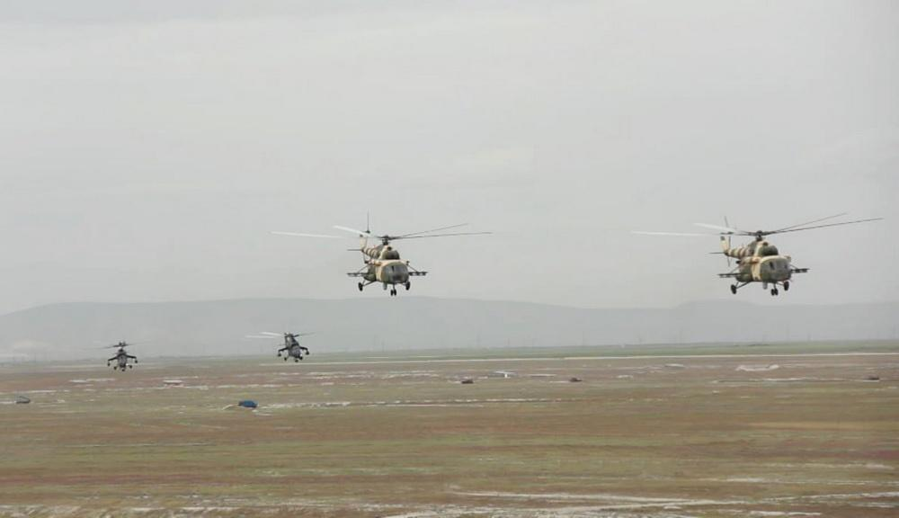 "Azerbaijan Army's helicopters fulfil tasks within ""Anatolian Phoenix-2019"" exercises in Turkey (PHOTO/VIDEO)"