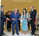 Heydar Aliyev Foundation VP attends opening ceremony of exhibition of well-known artist (PHOTO) - Gallery Thumbnail