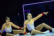 Bakıda aerobika gimnastikası üzrə Avropa çempionatı davam edir (FOTOREPORTAJ) - Gallery Thumbnail