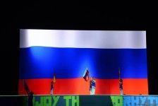 Aerobika gimnastikası üzrə 11-ci Avropa çempionatının möhtəşəm açılış mərasimi (FOTOREPORTAJ) - Gallery Thumbnail