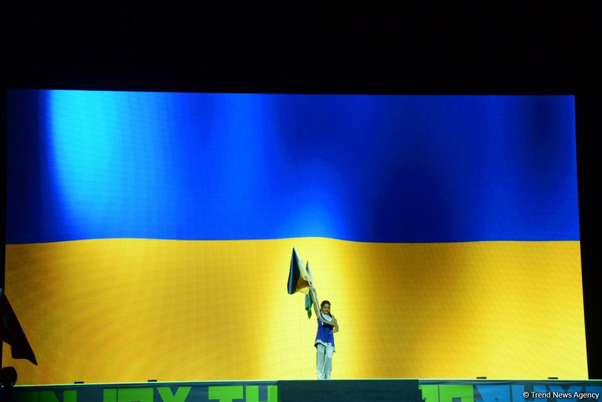 Aerobika gimnastikası üzrə 11-ci Avropa çempionatının möhtəşəm açılış mərasimi (FOTOREPORTAJ) - Gallery Image