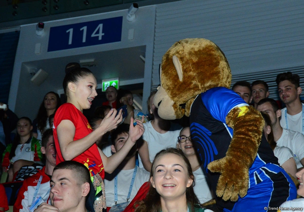Aerobika gimnastikası üzrə Avropa çempionatında sevinc və heyranlıq (FOTO) - Gallery Image