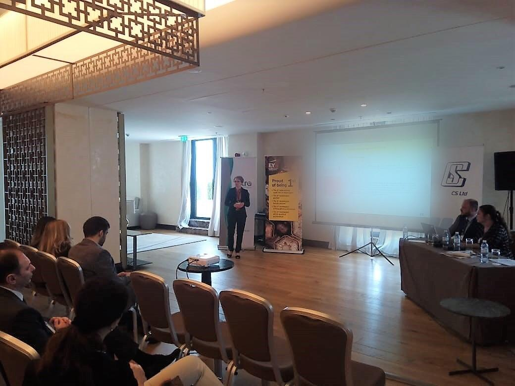 EY Azerbaijan held presentation on IFRS 9 for banking sector (PHOTO) - Gallery Image