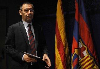 """Президент """"Барселоны"""" Бартомеу заявил, что не собирается конфликтовать с Месси"""
