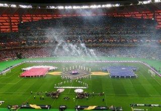 Bakı Olimpiya Stadionunda UEFA Avropa Liqasının finalı matçının açılış mərasimi keçirilib (VİDEO)