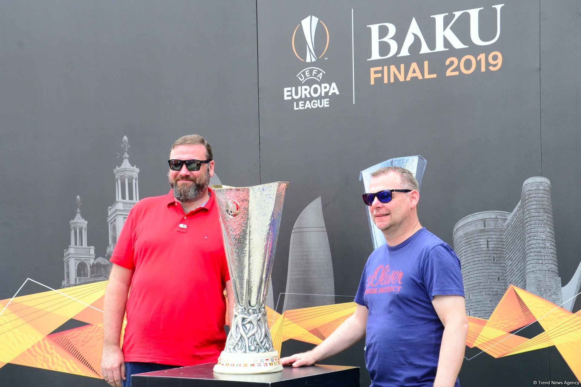 Few hours left before start of UEFA Europa League final match in Baku (PHOTO) - Gallery Image