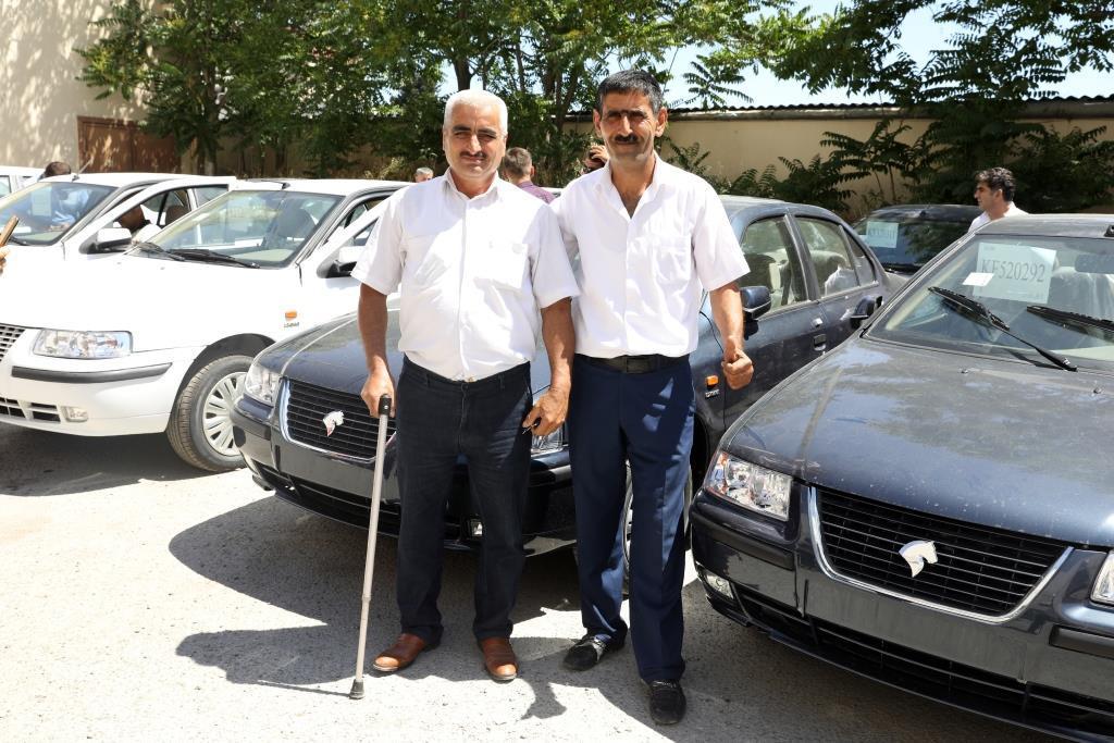 В Азербайджане 50 инвалидов Карабахской войны и событий 20 января получили автомобили (ФОТО) - Gallery Image