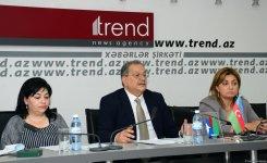 В Баку обсудили модель мультикультурализма на примере защиты прав и сохранения традиций нацменьшинств в Азербайджане (ФОТО) - Gallery Thumbnail