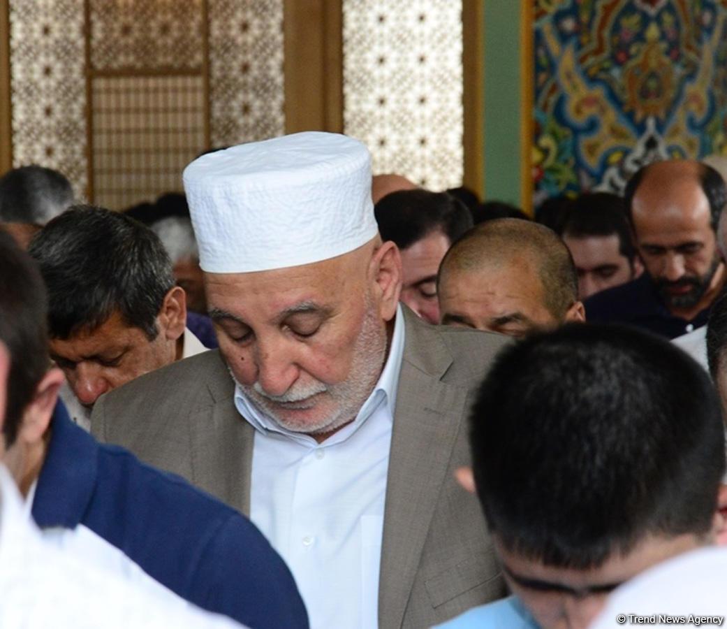 В мечети Тезепир был совершен намаз по случаю праздника Рамазан (ФОТО) - Gallery Image
