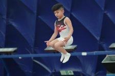 В столице Азербайджана проходят чемпионат и первенство Баку по прыжкам на батуте и тамблингу (ФОТО) - Gallery Thumbnail